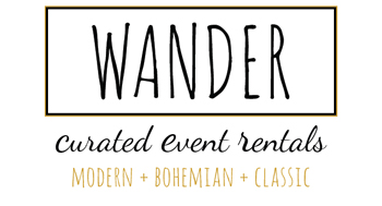Wander Curated Event Rentals