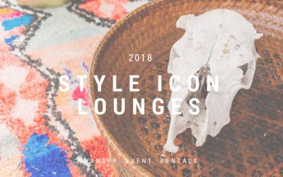 2018 Style Icon Lounges