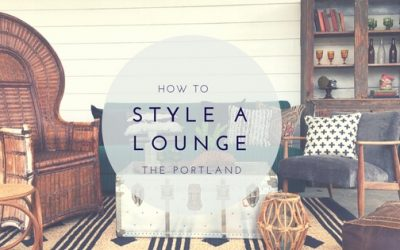How to Style a Lounge